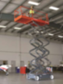 Mobile vertical scissor lift, category 3a