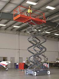 Mobile vertical scissor lift, category 3a