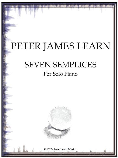 Seven Semplices for Piano