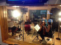 Mancini Quartet Recording Shant