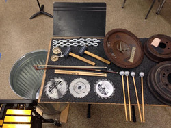 Resounduo percussion for MAB