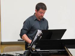 Ensemble Ibis - me on vibraphone