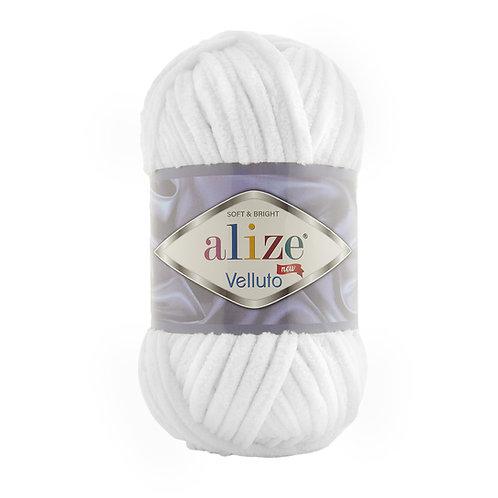 Alize Velluto White 55
