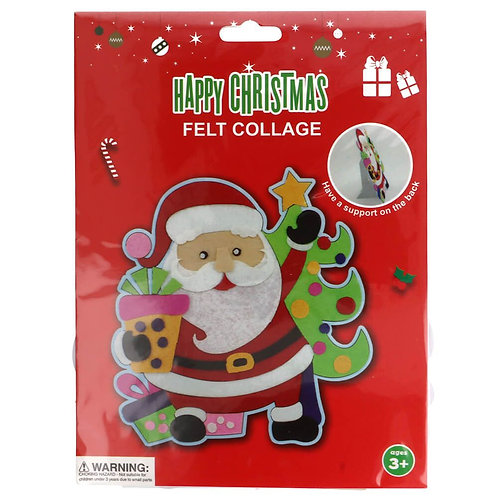 Vilt Pakket voor Kinderen Kerstman