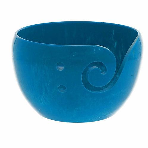 Scheepjes Yarn Bowl Parelmoer Effect Blauw 13 x 8 Cm