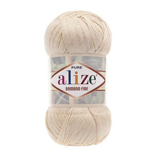 Alize Bamboo Fine Cream 01