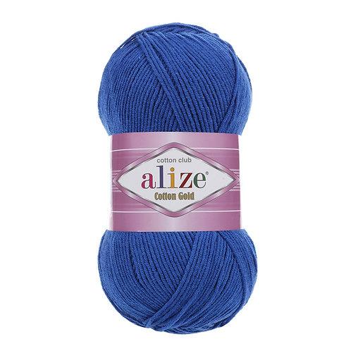 Alize Cotton Gold Royal Blue 141