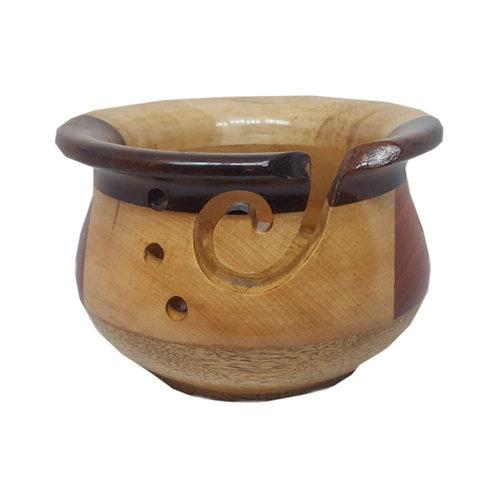 Scheepjes Yarn Bowl Multi Hout 14,5 x 10 Cm