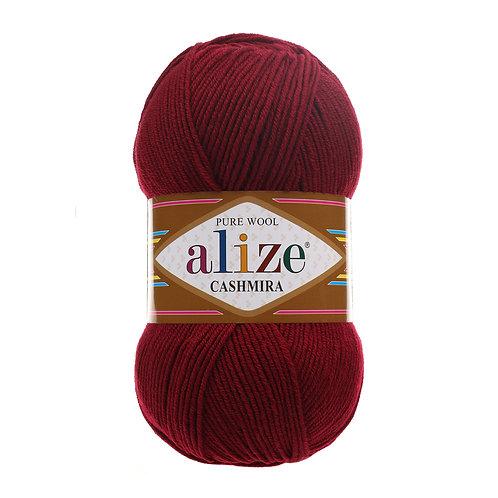 Alize Cashmira Bordeaux  57