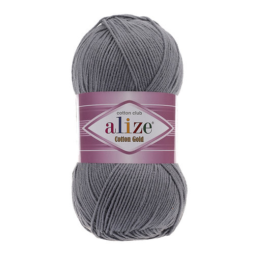 Alize Cotton Gold Coal Grey 87