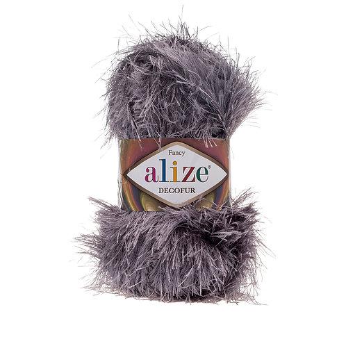 Alize Decofur Coal Grey 87