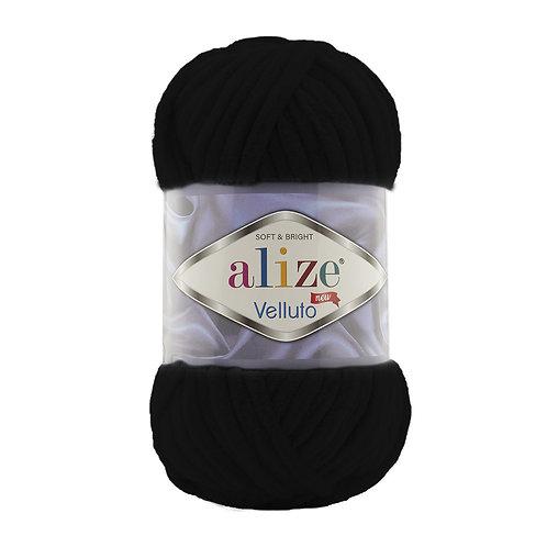Alize Velluto Black 60