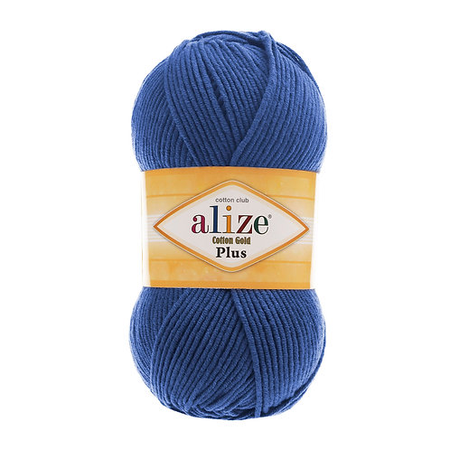 Alize Cotton Gold Plus Midnight Blue 279