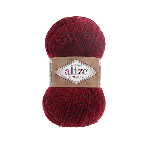 Alize Alpaca Royal Borderaux 57