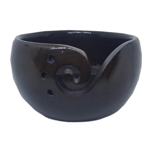 Scheepjes Yarn Bowl Dennehout Donker Bruin 15 x 10 Cm
