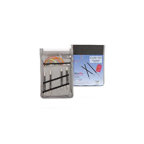 Knitpro Karbonz Verwisselbare Naalden Starter Set
