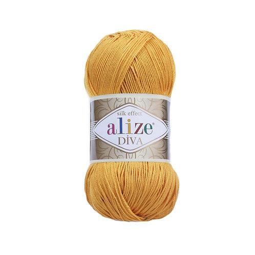 Alize Diva Dark Yellow 488