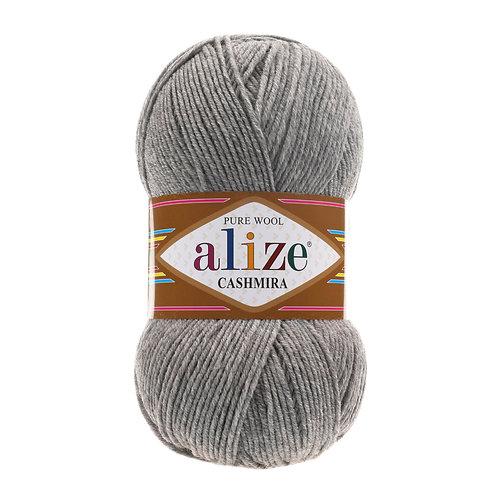 Alize Cashmira Grey Melange 21