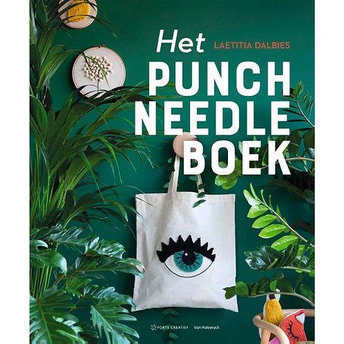 Het Punch Needle Boek - Laetitia Dalbies