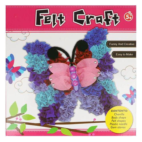 Vilt Pakket Amigurumi voor Kinderen Vlinder
