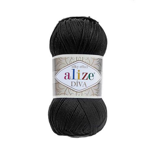 Alize Diva Black 60