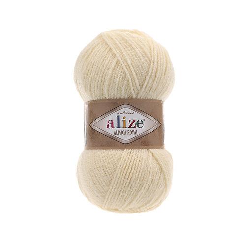 Alize Alpaca Royal Cream 01