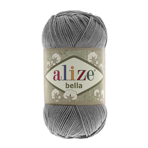 Alize Bella Coal Grey 87