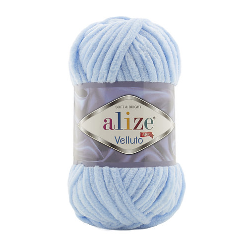Alize Velluto Baby Blue 218