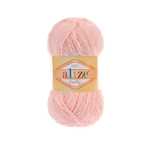 Alize Softy Powder Pink 340