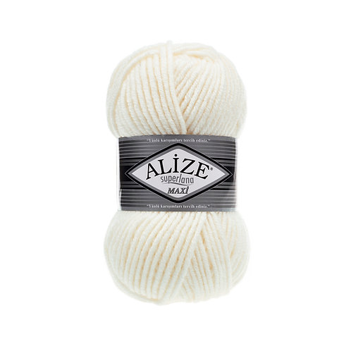 Alize Superlana Maxi Light Cream 62