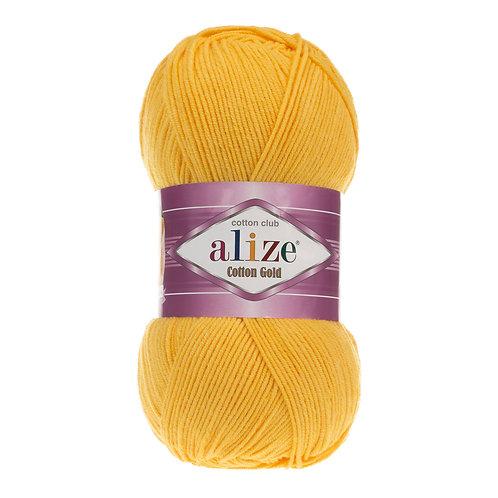 Alize Cotton Gold Dark Yellow 216