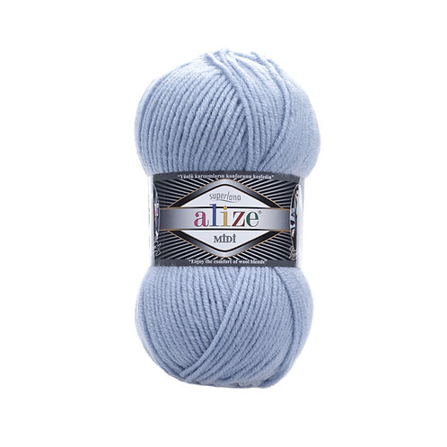 Alize Superlana Midi Light Blue 480