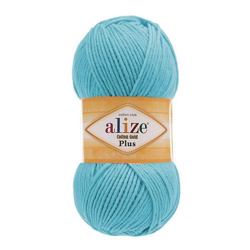 Alize Cotton Gold Plus Turquoise 287