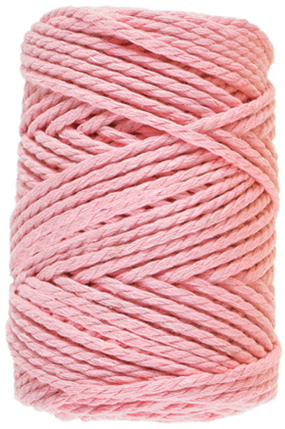 Lammy Yarns - Macrame 8 - 710 Licht Roze