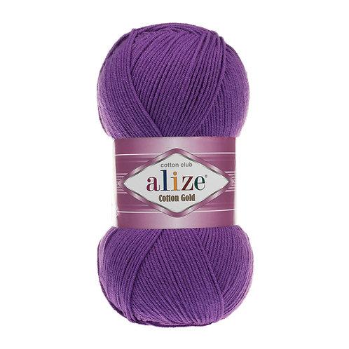 Alize Cotton Gold Purple 44