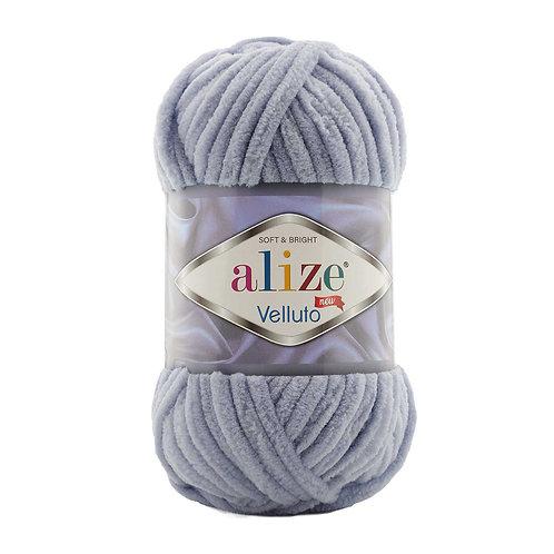 Alize Velluto Coal Grey 87