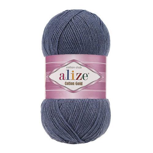 Alize Cotton Gold Denim Melange 203