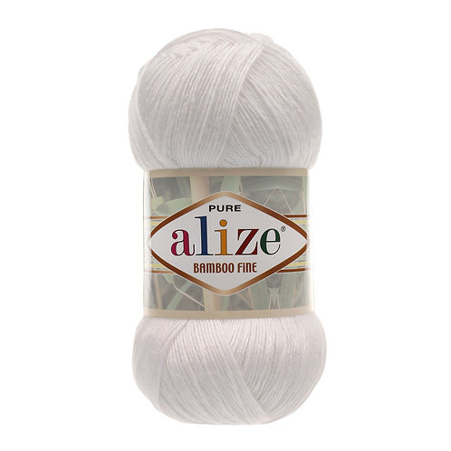 Alize Bamboo Fine White 55