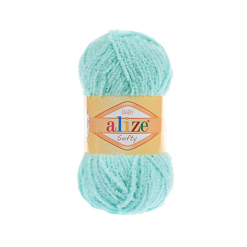Alize Softy Light Turquoise 669