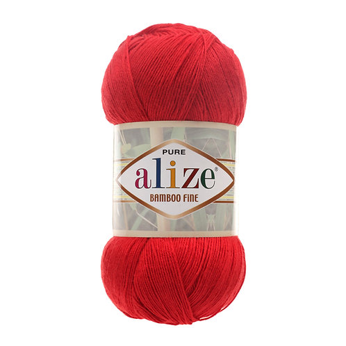 Alize Bamboo Fine Red 56