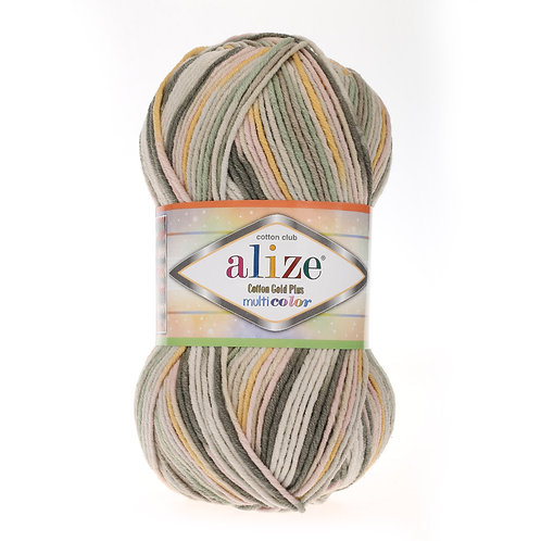 Alize Cotton Gold Plus Multi Colour 52199