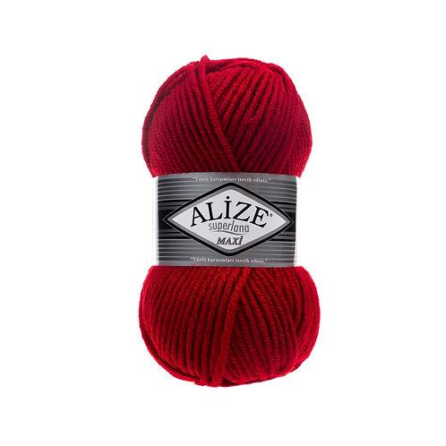 Alize Superlana Maxi Red 56