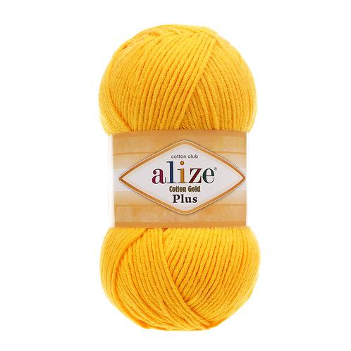Alize Cotton Gold Plus Dark Yellow 216