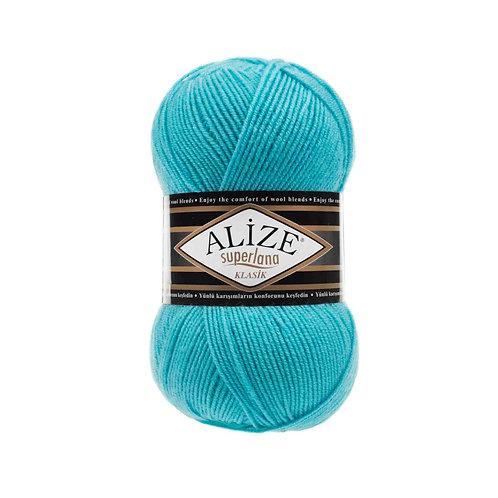 Alize Superlana Klasik Turqoise 467
