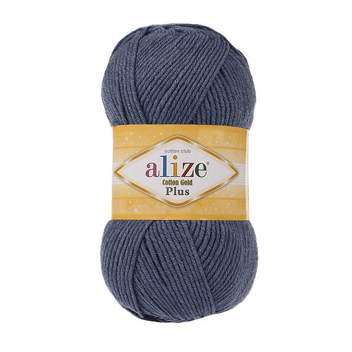 Alize Cotton Gold Plus Denim Melange 203