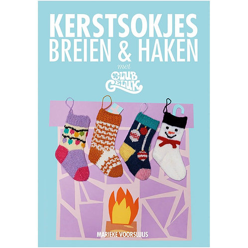 Kerstsokjes Breien En Haken - Marieke Voorsluijs