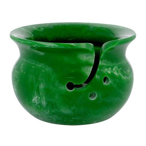 Scheepjes Yarn Bowl Parelmoer Effect 14 x 9 Cm Groen