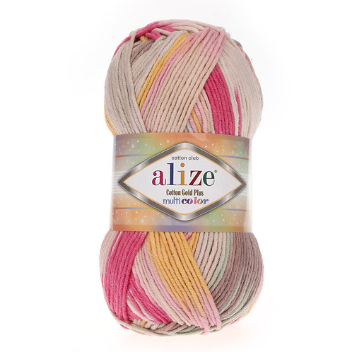 Alize Cotton Gold Plus Multi Colour 52196
