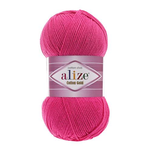 Alize Cotton Gold Fuchsia 149