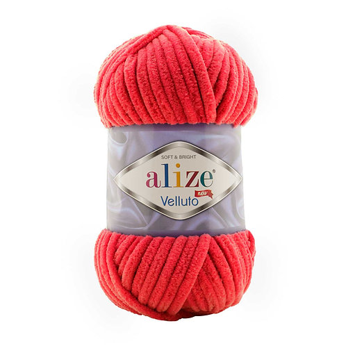 Alize Velluto Red 56